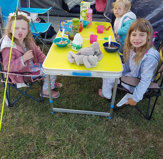 Summer Holidays – Surviving a camping trip with the family!